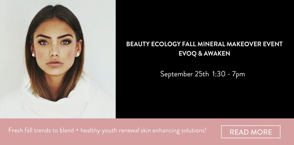 Fresh fall trends to blend + healthy youth renewal skin enhancing solutions!  Fall transition brings about change, and your time certainly does not slows down.    Your beauty sleep is precious and early mornings can be a bit blurry. We're here to help. xo