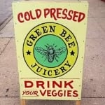 green bee sign.jpg