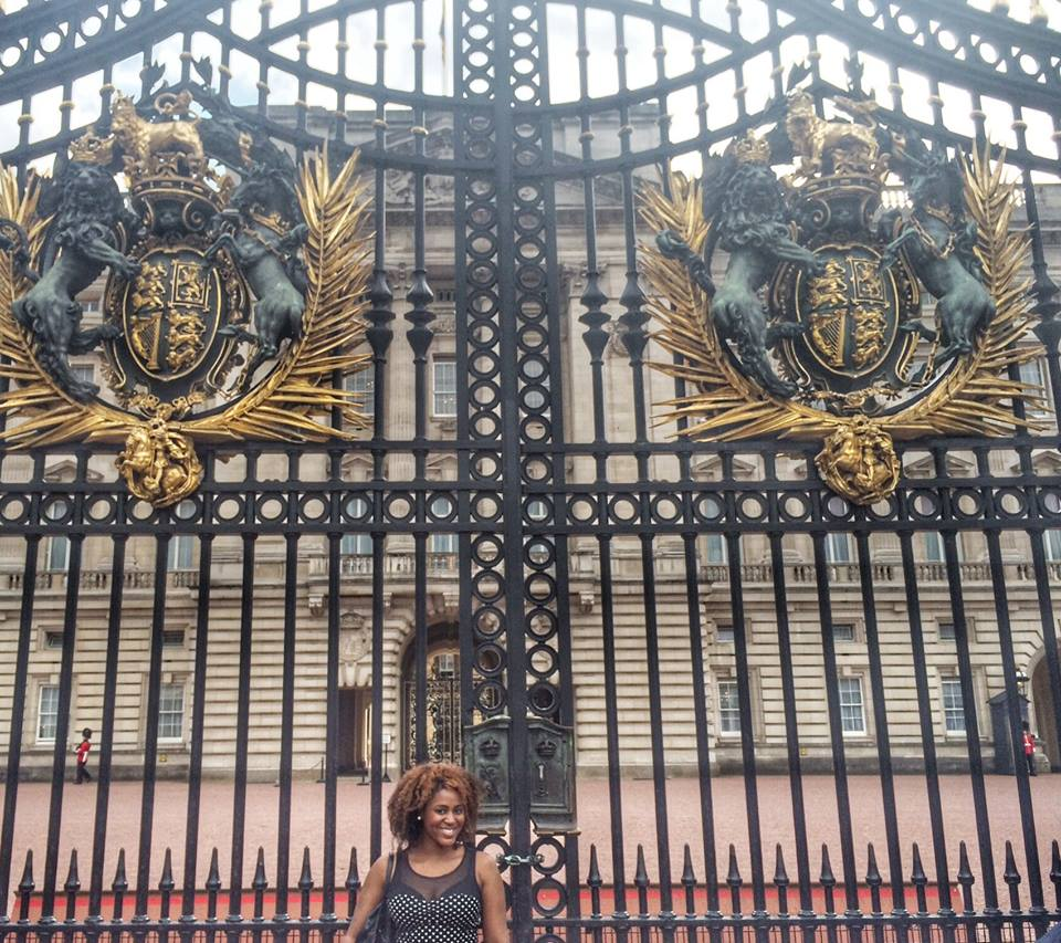 Gates to Buckingham Palace