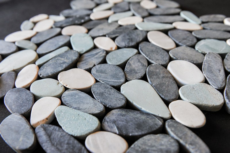 мозаика из натурального камня, галька