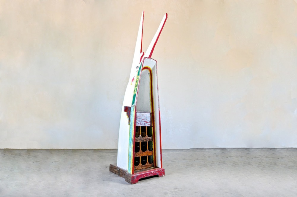 Лодка - шкаф для вина Recycled / WINE BOAT
