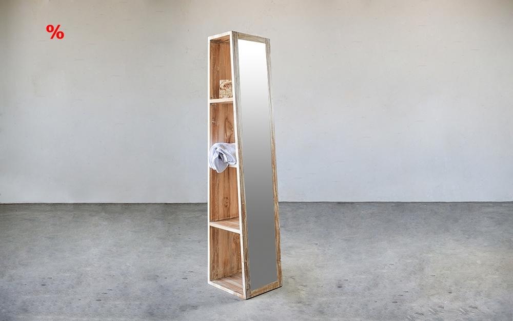 Стеллаж для ванной minimalis / PYRAMID