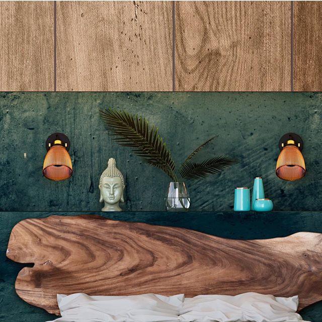 SUAR bed в Дизайне @konli  Этно мотив для загородного дома - Ethnocentric is the weekend for yourself #суар #кроватьизслэба #слэб #ecowood