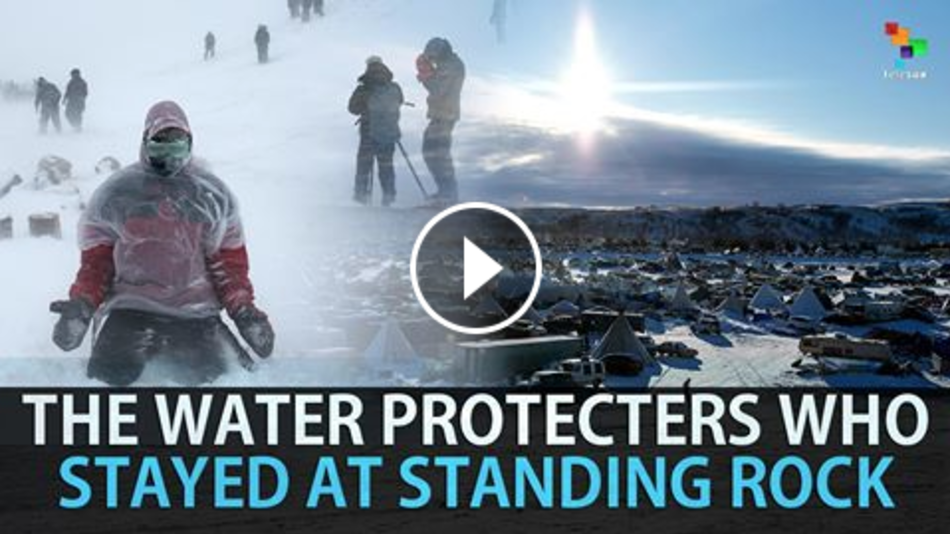 TELESUR:  The Water Protectors Who Stayed at Standing Rock . I produced this video for TeleSUR English while at Standing Rock early January 2017. Water protectors at Standing Rock fighting the Dakota Access Pipeline are showing resilience as hundreds continue to stay at the camps braving harsh storms and sub-zero temperatures.