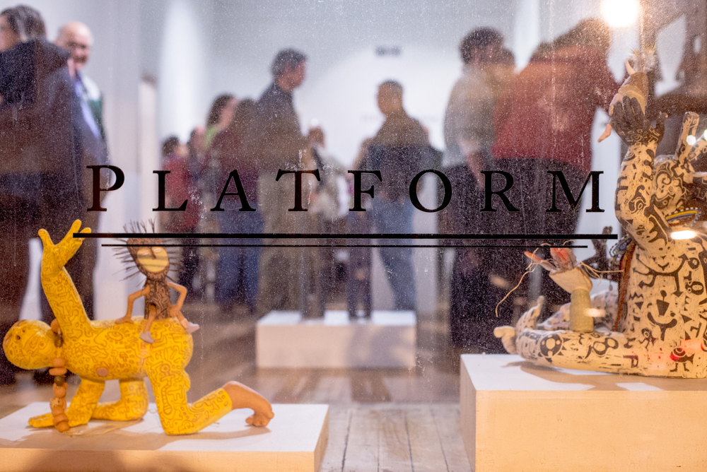 "Platform Gallery reception for ""TerraForming"""