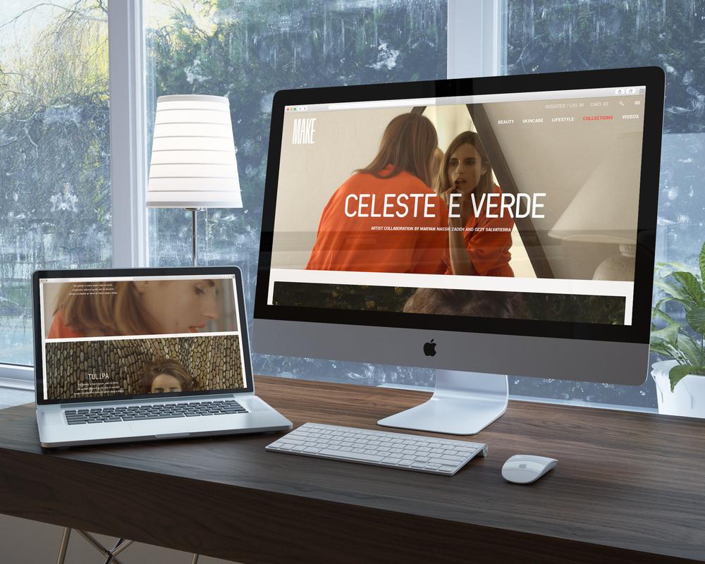 MAKE WEBSITE