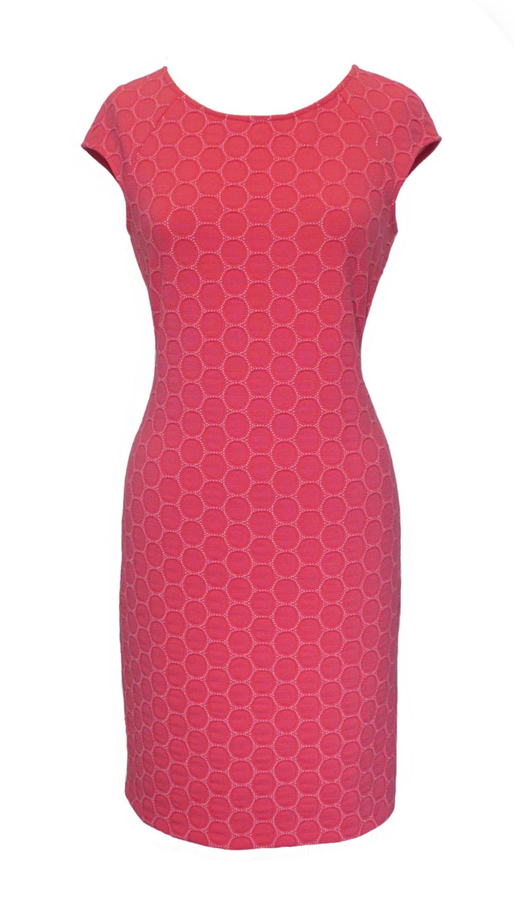 dress cap sl coral circles.jpg