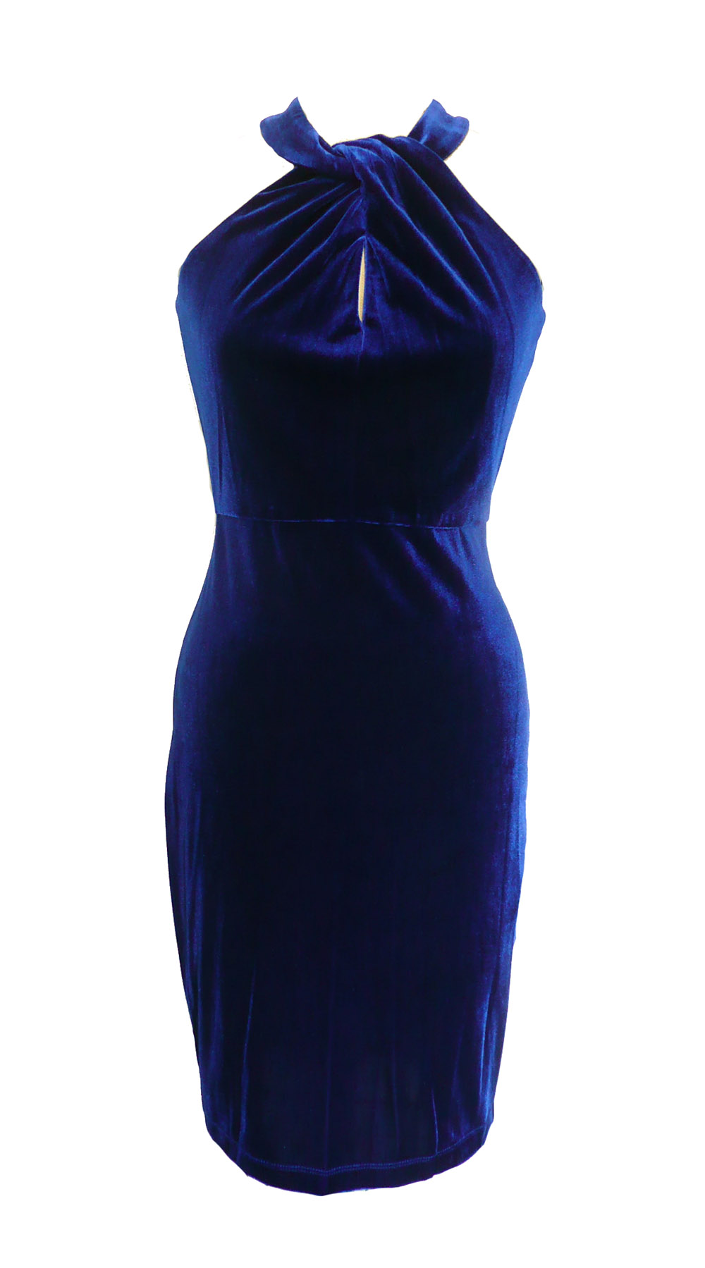 dress blue velvet halter.jpg