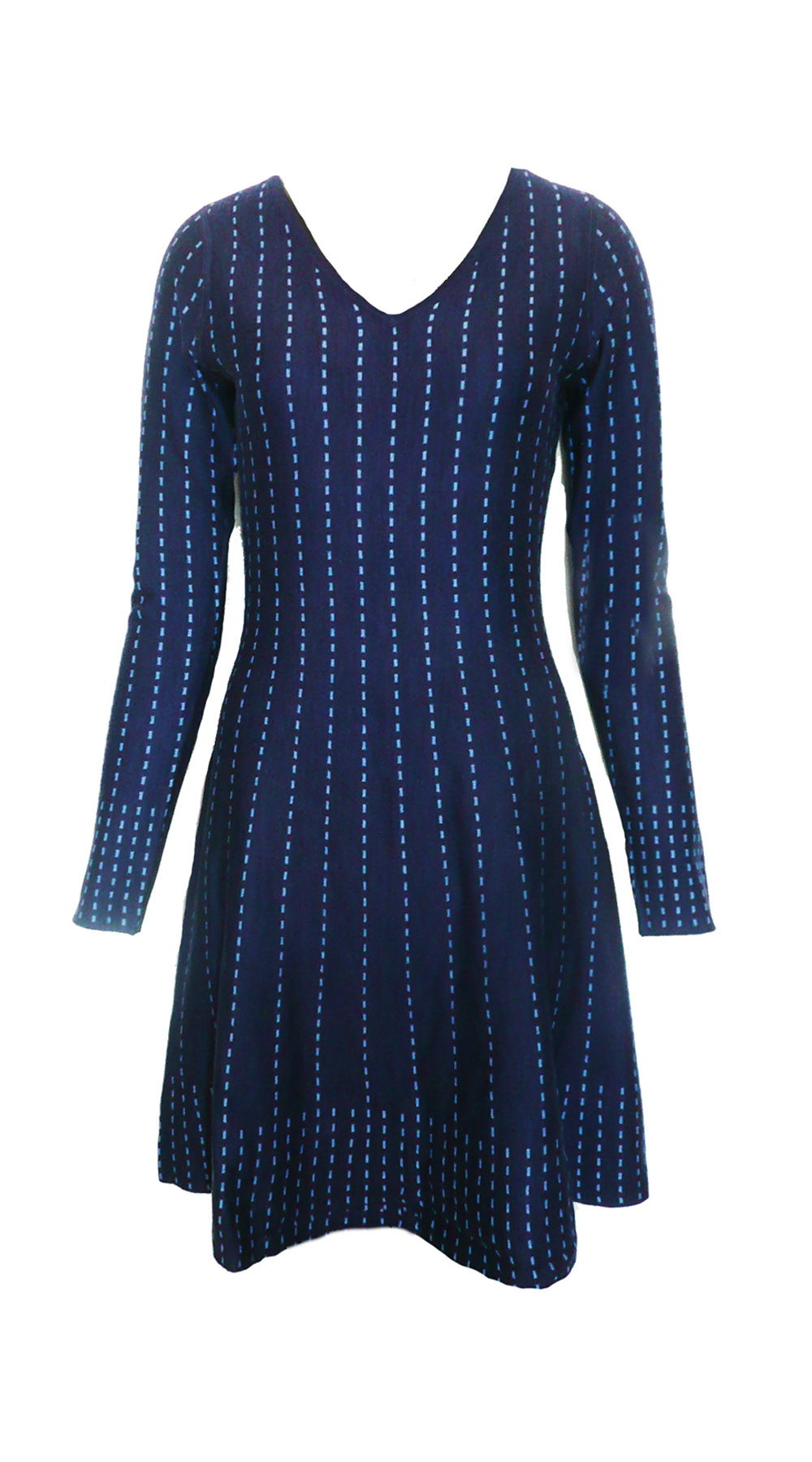 dress fit flare navy dash.jpg