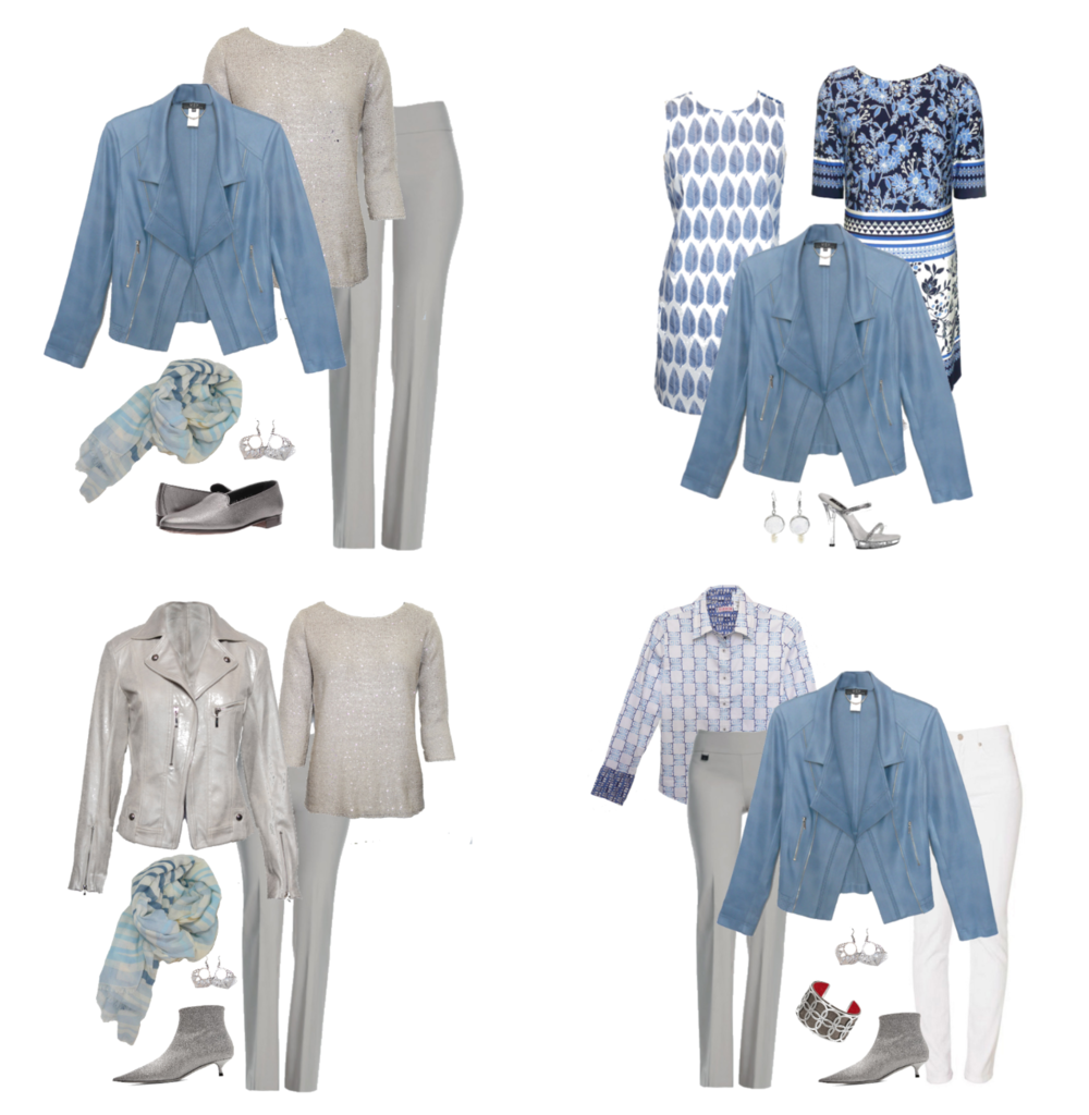 Wardrobe Updates - You receive seasonal suggestions to keep your wardrobe up to date