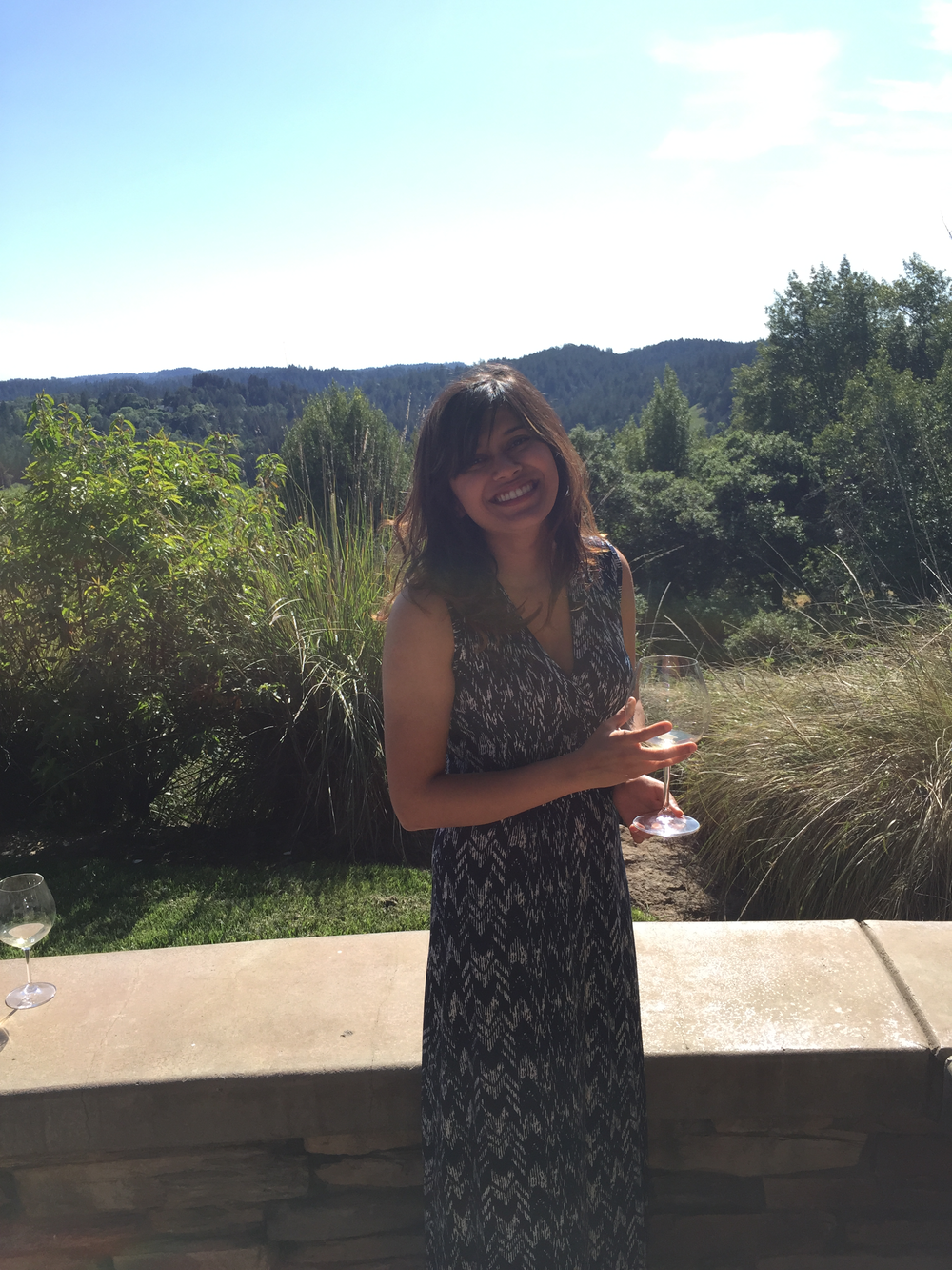 Helpful Tip: Wine country is for Maxi Dresses