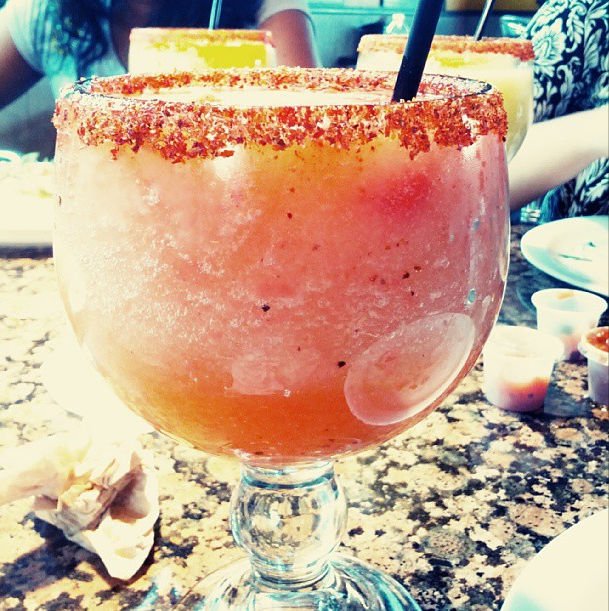 El Taquito Strawberry Margarita