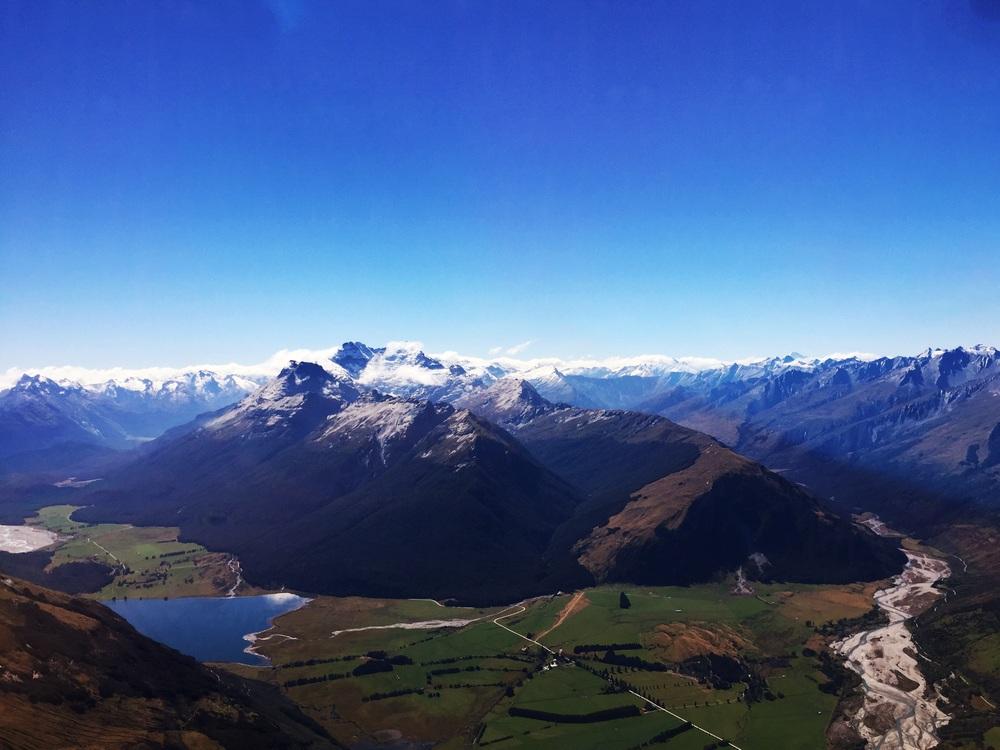 Flight Over Queenstown, New Zealand