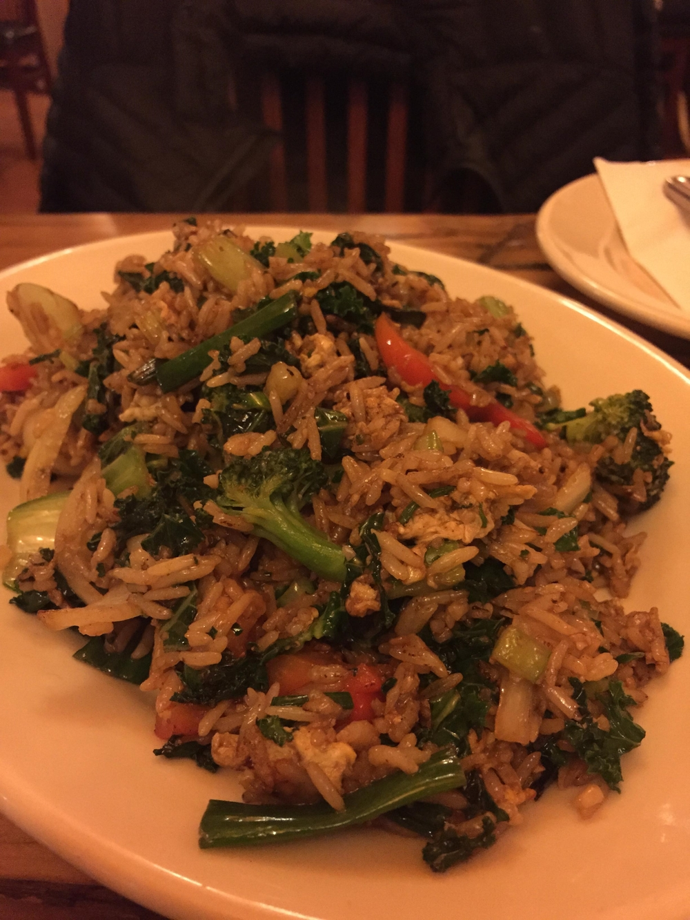 Vegetable Fried Rice - Nomad Tibetan Restaurant