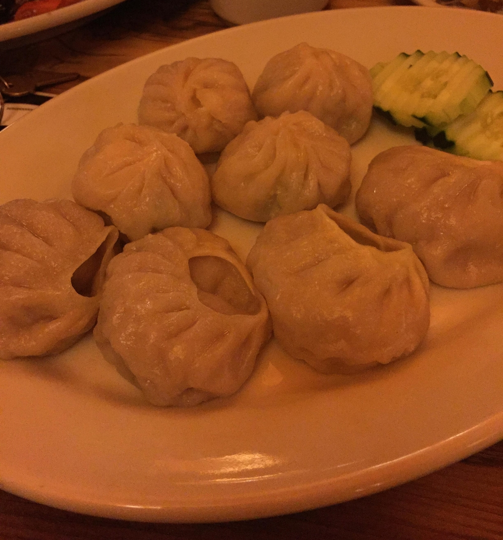 Dumplings at Nomad Tibetan Restaurant