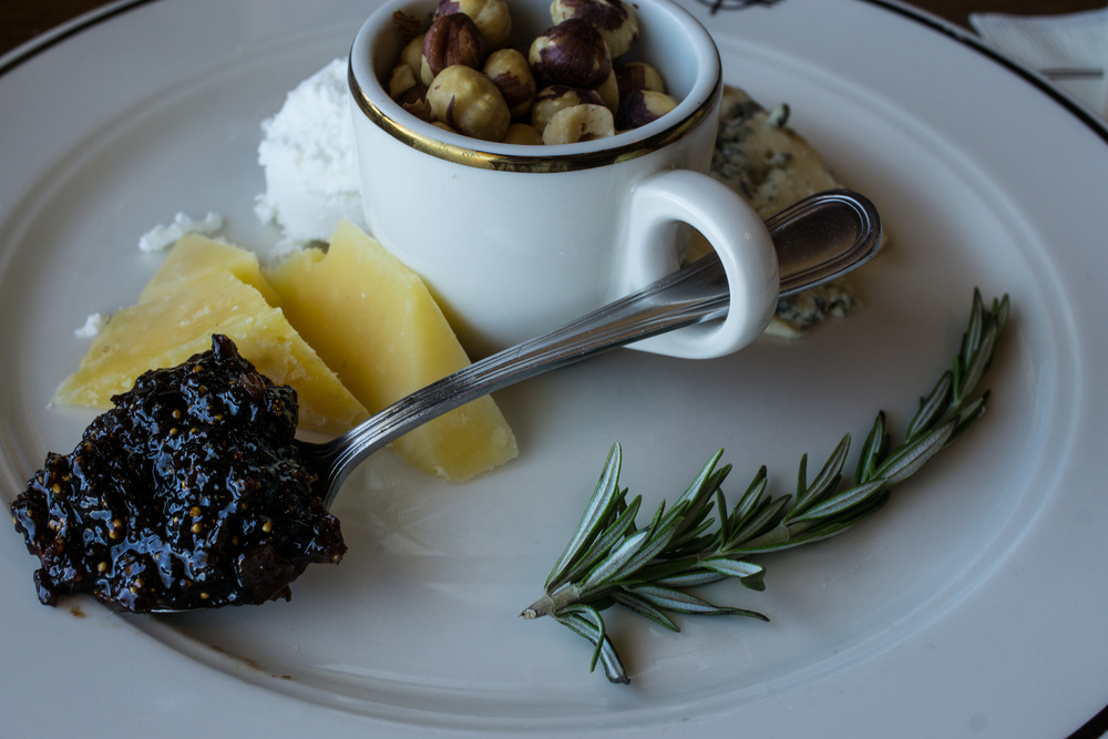 Wine & cheese & Delicious Fig Jam - What More can a girl ask for? - Timberline Lodge