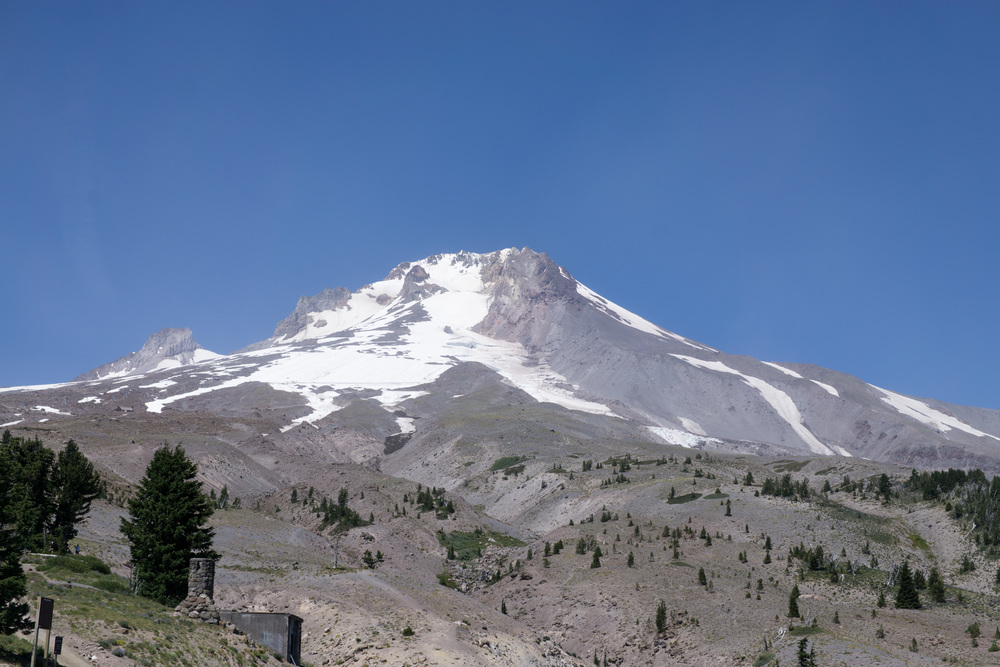 This is Mt. Hood. I kept mistakenly calling it Mt. Doom.