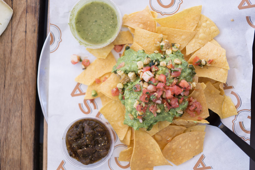 You can't keep a Texan away from nachos. C Casa's guac is bomb.