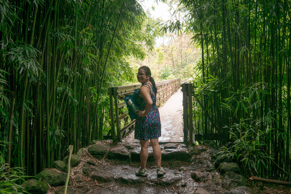 The bamboo forest is dope.