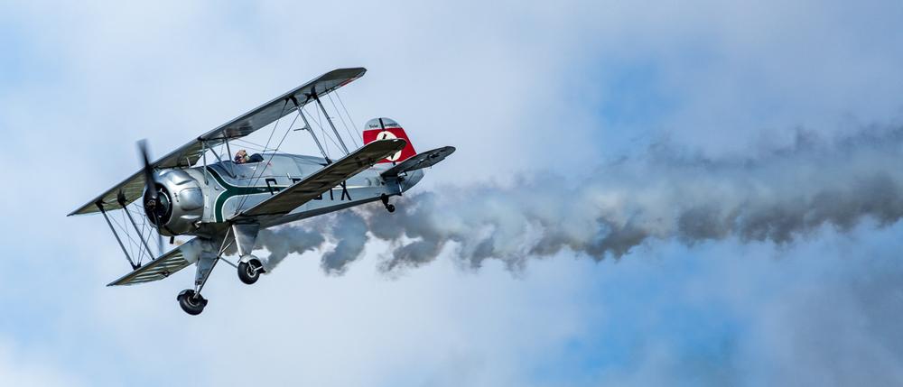 German WW1 Bi-plane