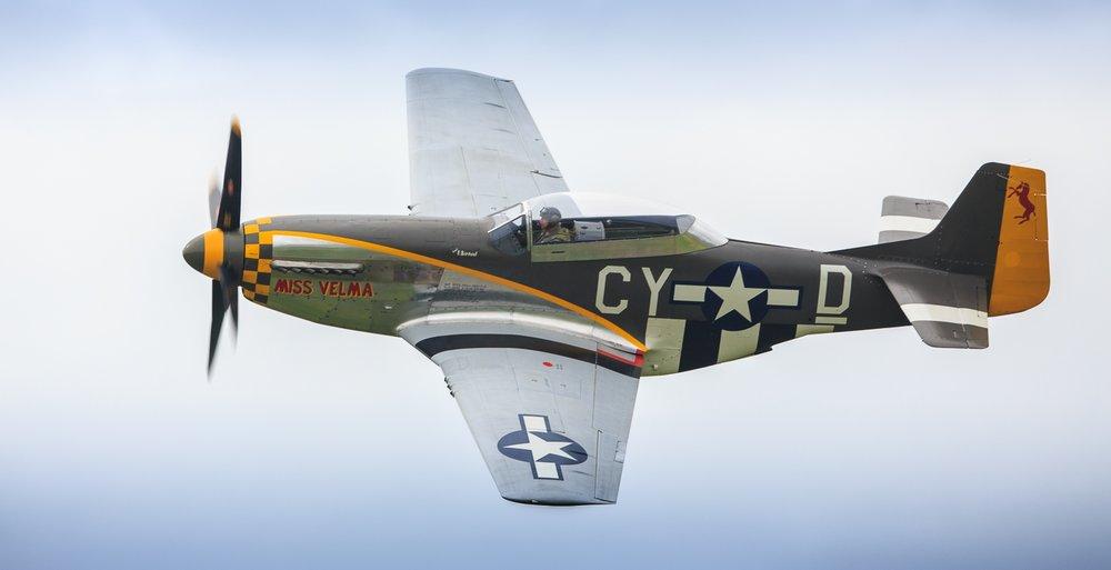 American fighter plane