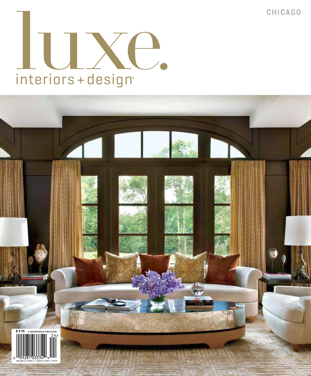 luxe chicago fall 2012 city pied a terre_page_1jpg - Luxe Interiors And Design Magazine