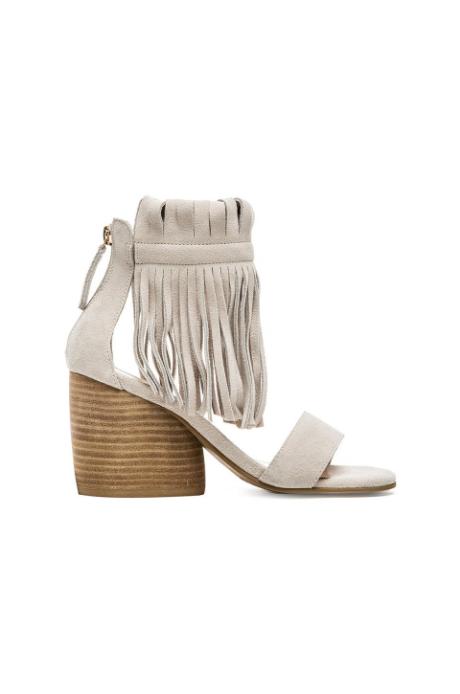 Matiko Morgan fringe sandal, $150