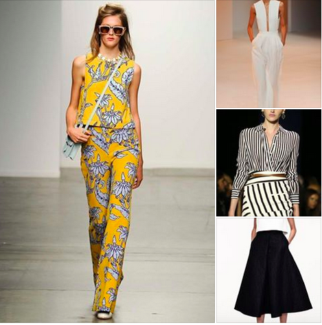 Spring 2015 Women's clothing trends
