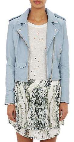 Iro Lambskin Motto Jacket, $1200