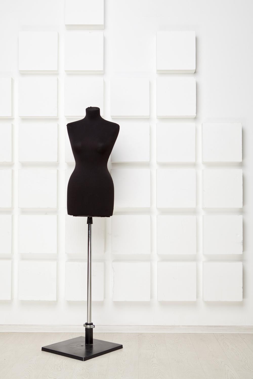 Black dressing mannequin