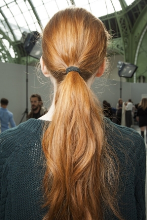 Low ponytail trend
