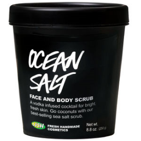Lush Ocean Salt Face and Body Scrub , $21.95 4.2oz.