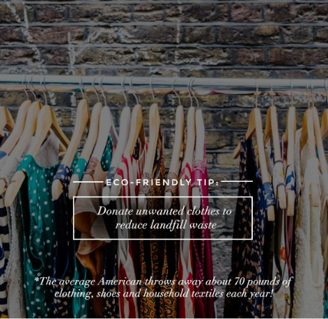 Eco-Friendly and sustainable fashion tips