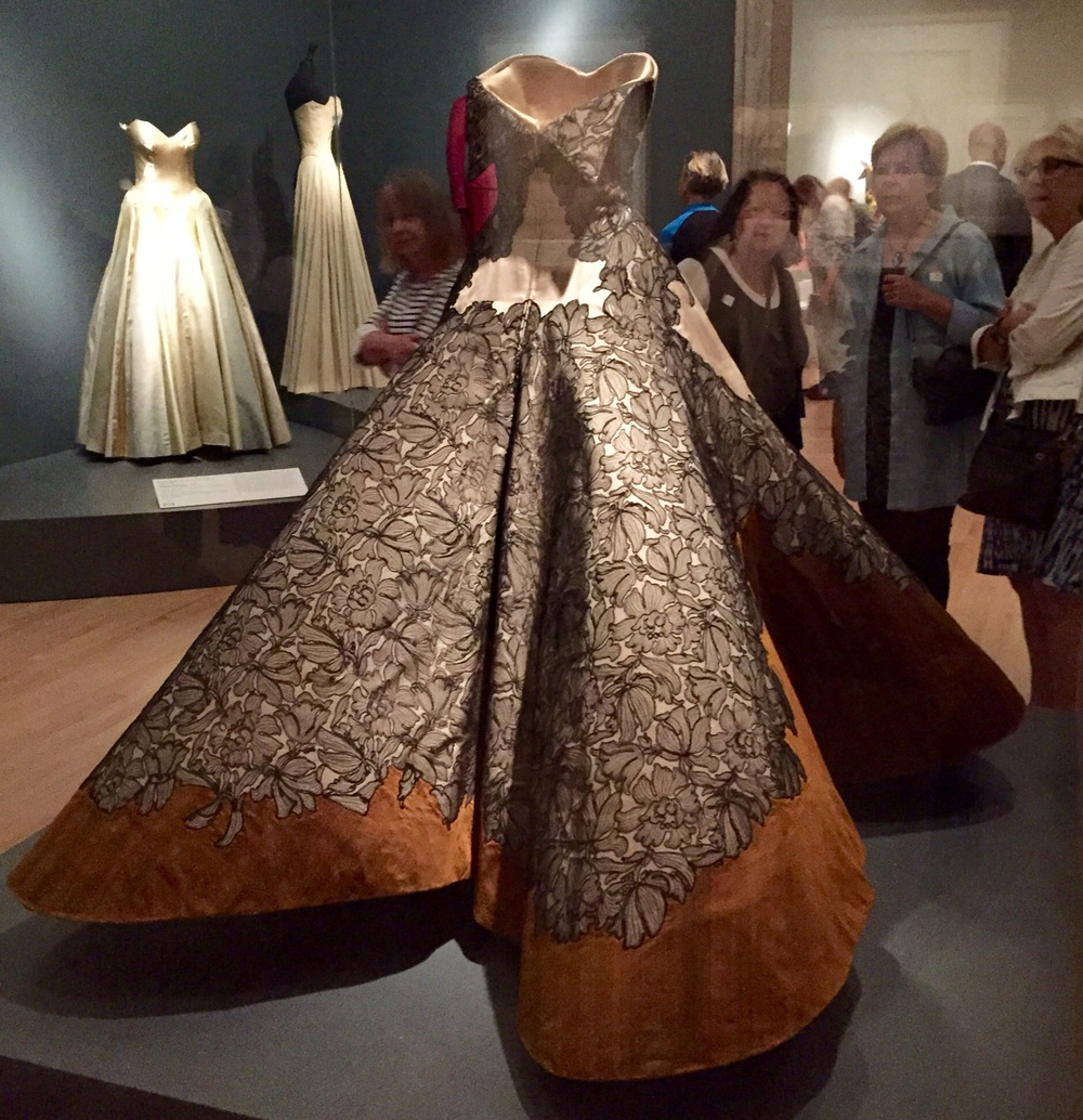 We loved the detailing in the back. Especially the folded down sections at the top.