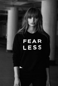 Fearless fashion sweatshirt