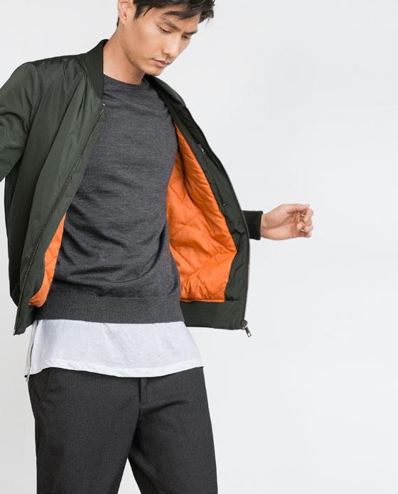 Zara Bomber Jacket $79.90