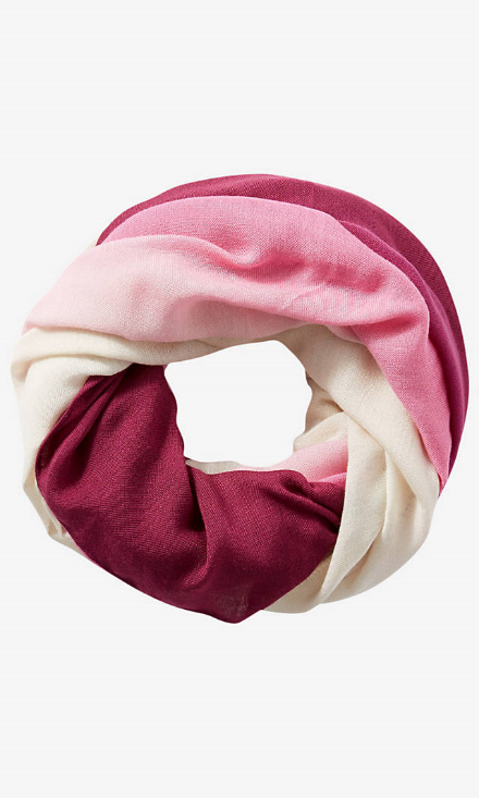 Express Berry Ombre Loop Scarf, $24.90