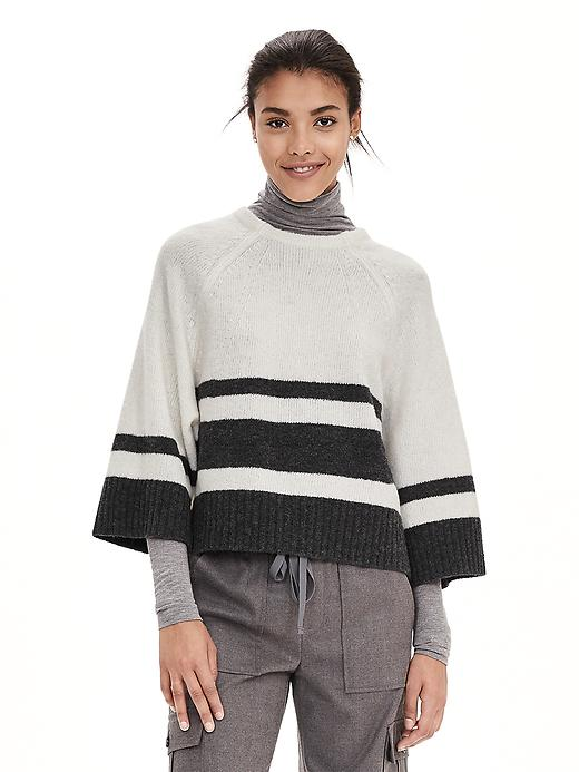 BR Bold Stripe A-Line Pullover Sweater, $39.99 (on sale!)