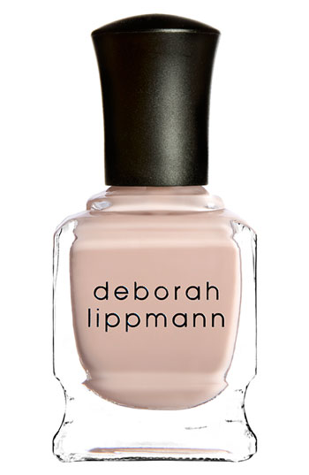 "Deborah Lippman in ""Naked"" $18 at Barney's This shade was the winner of InStyle magazine's award for Best Beauty Buys 2015. Formulated without parabens, sulfates and not tested on animals."