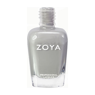 "ZOYA in ""Dove"" $9 available at zoya.com"