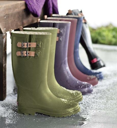Chooka solid mid rain boot , $65