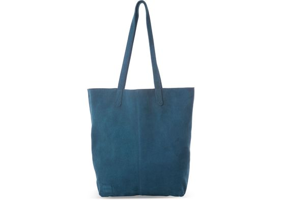 Tom's  soft suede tote comes with a detachable inner bag, making it an organization must-have. $158
