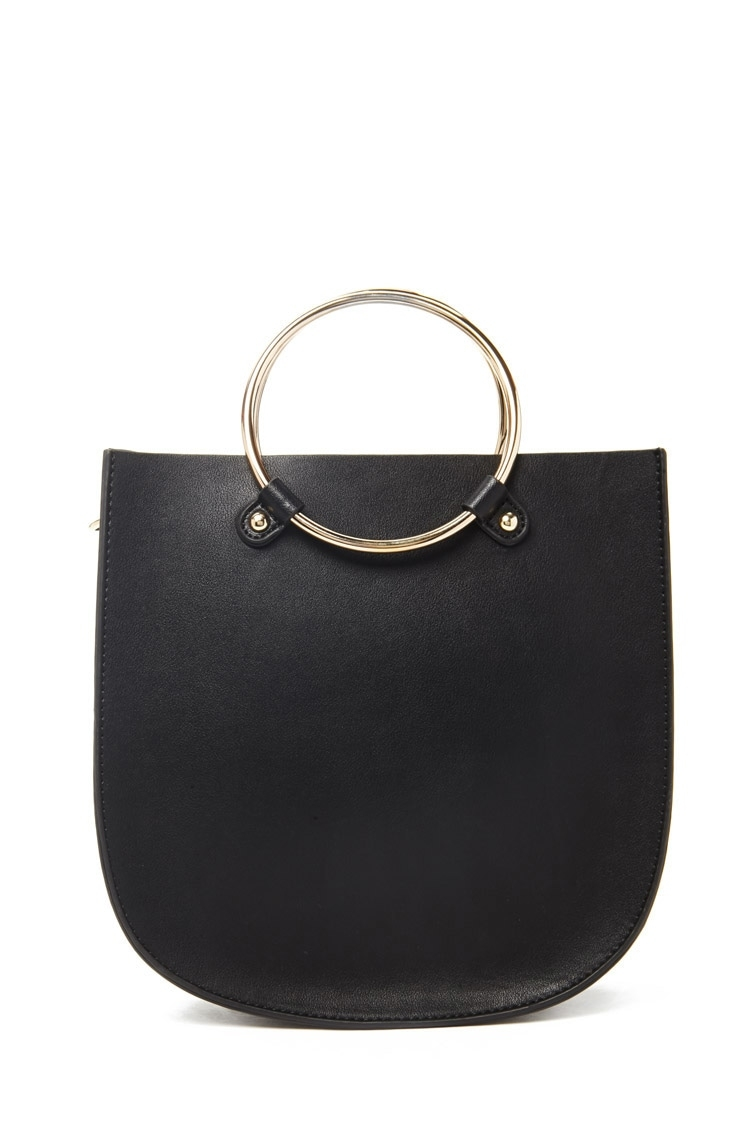 Forever21 Faux Leather Bag, $24.90