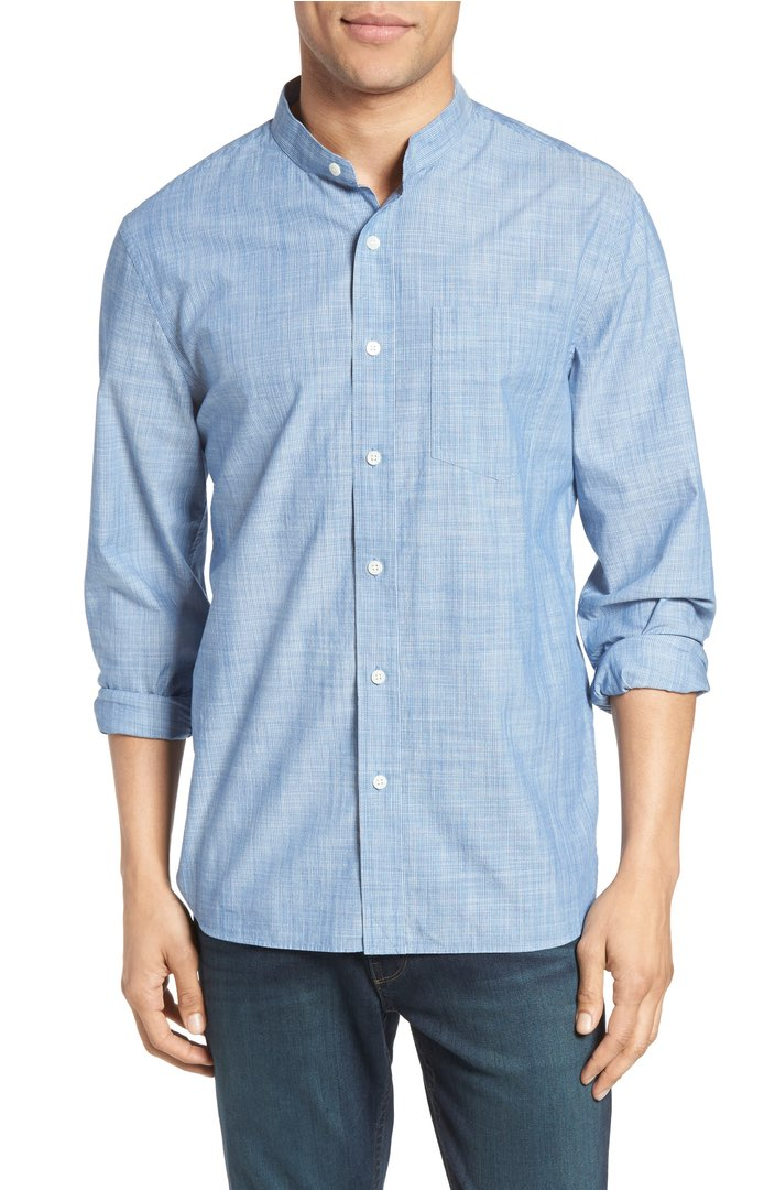 Jack Spade Pinstripe Chambray, $86 (on sale)