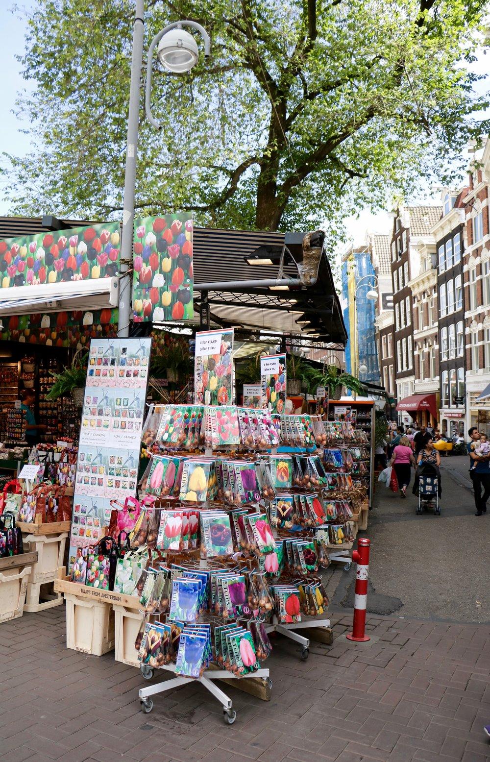 Amsterdam-tulip-flowermarket-stand