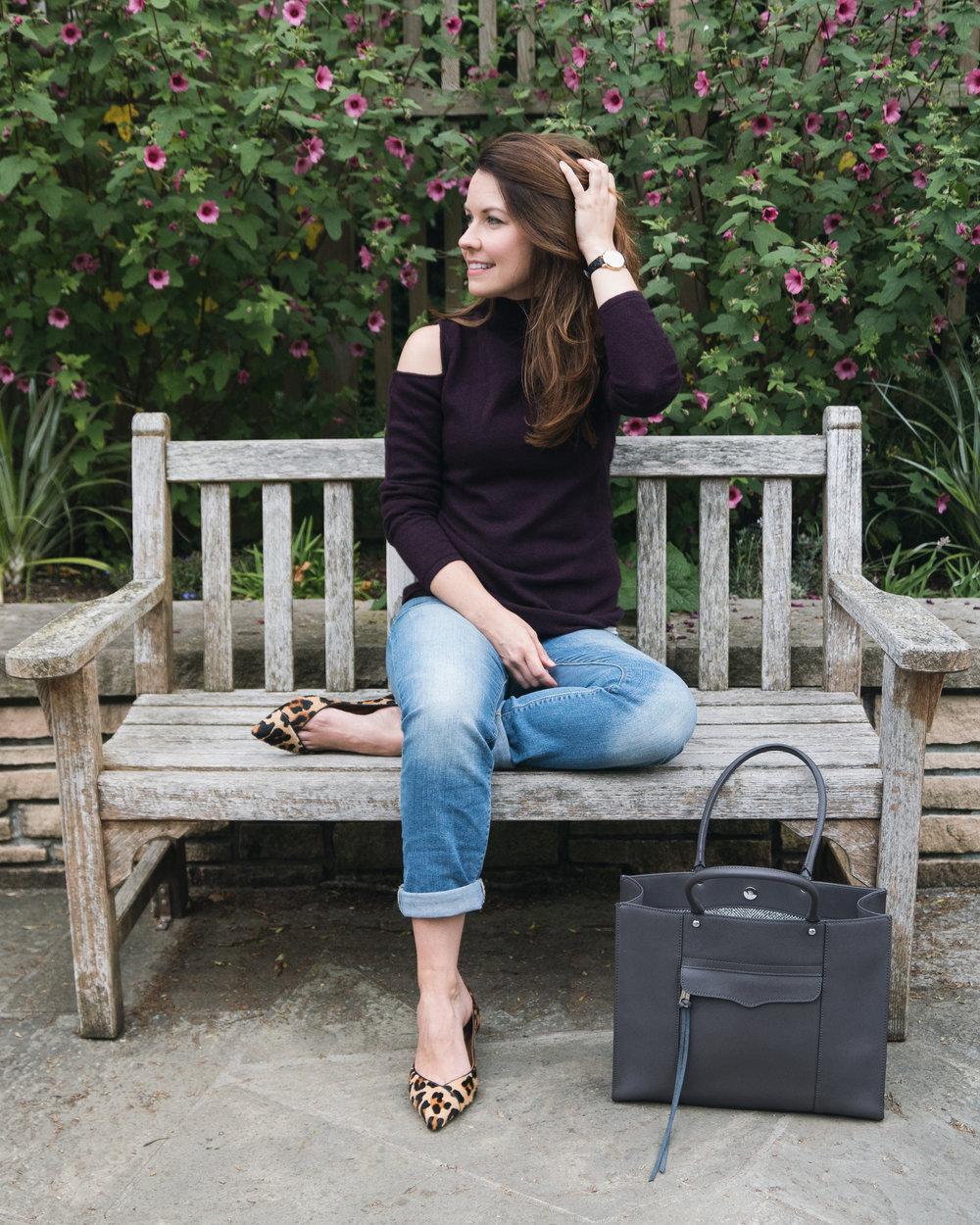 Fall-Denin-Purple-Cashmere-Sweater