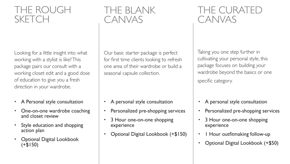 Canvas-styling-packages