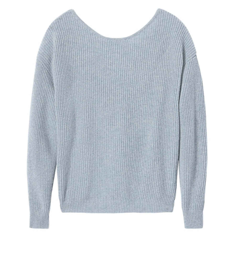 BR Cross-Back Sweater $278