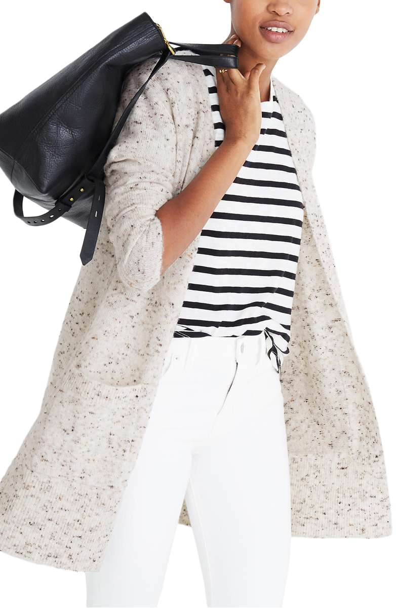Madewell Donegal Sweater Cardigan $89