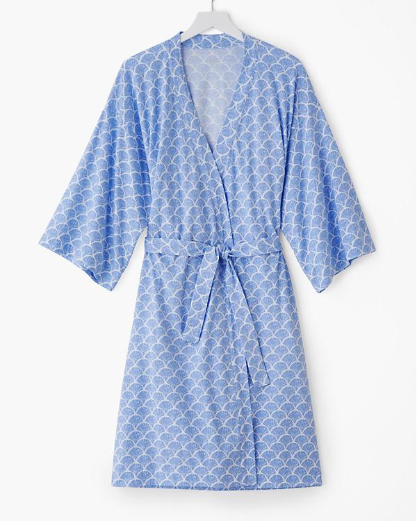 Organic-Cotton Batwing Kimono Robe $88